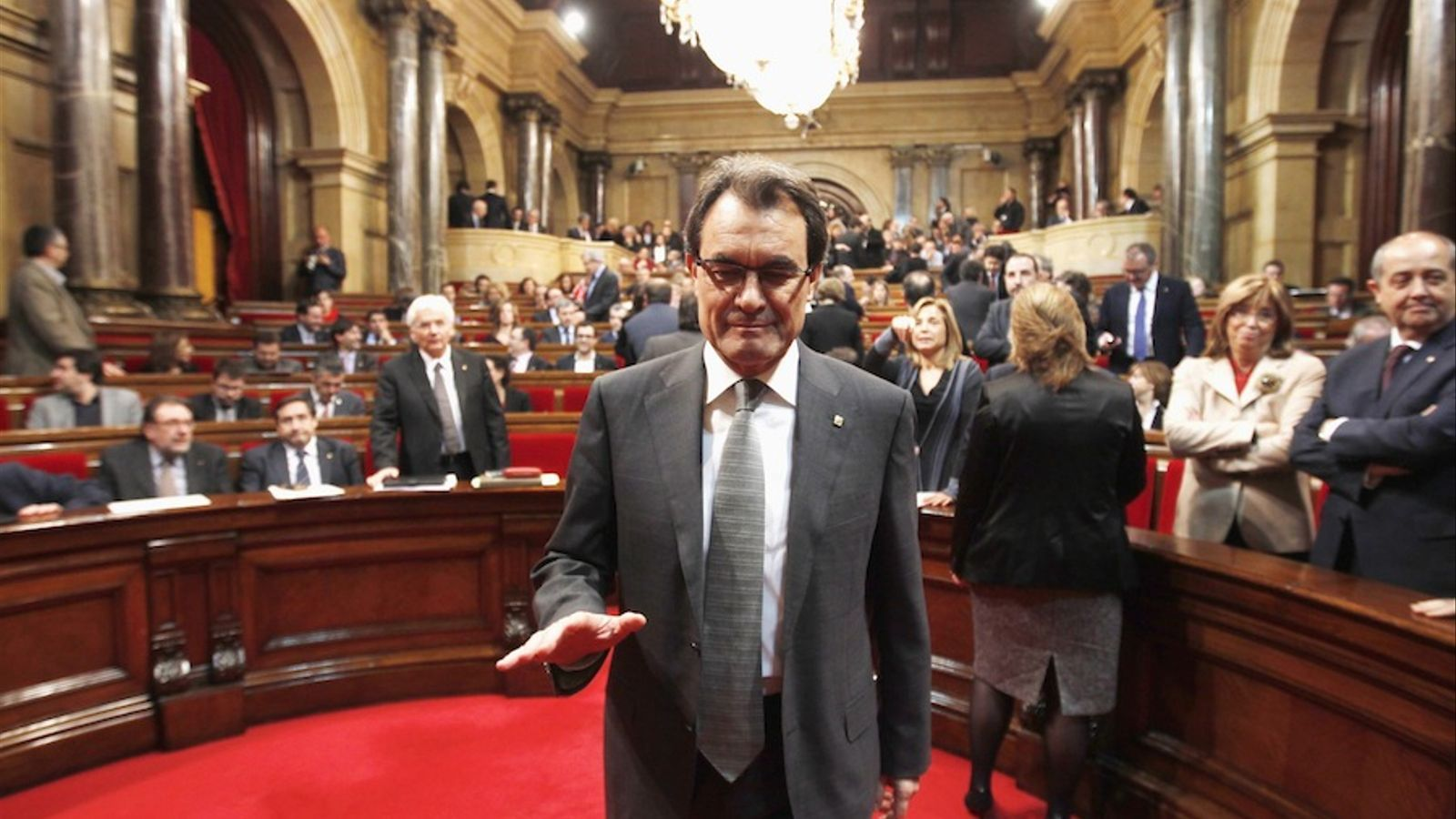Lourdes peines contre les dirigeants séparatistes catalans — Espagne