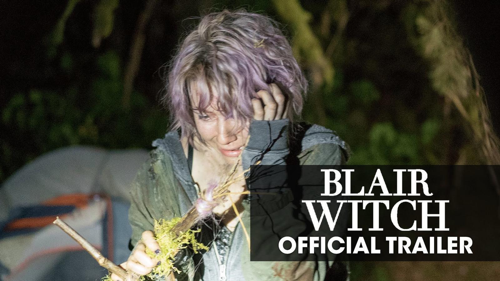 El tràiler de 'Blair Witch'