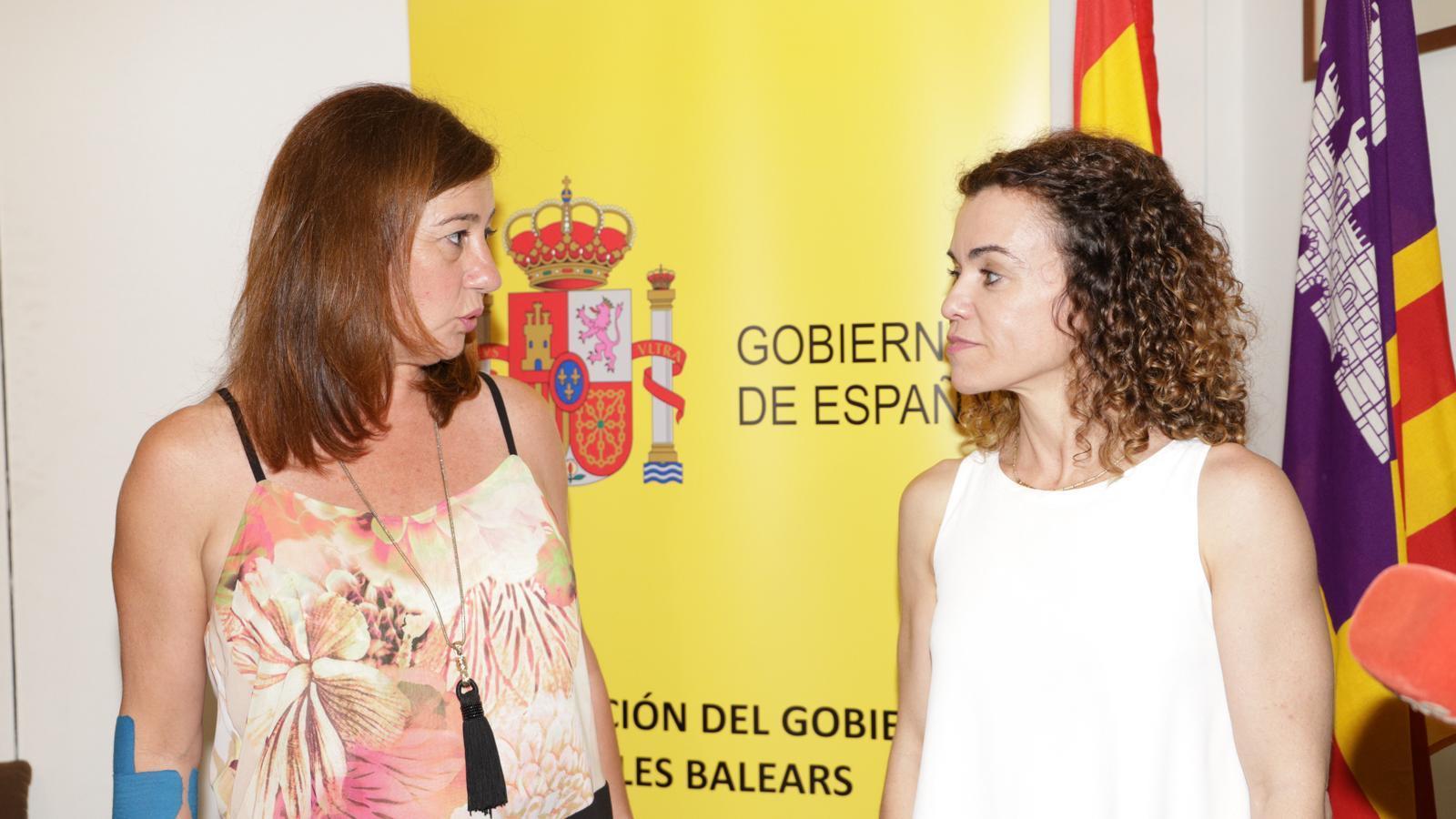 Sánchez Grau i Armengol aquest dimecres a la delegació del govern espanyol.