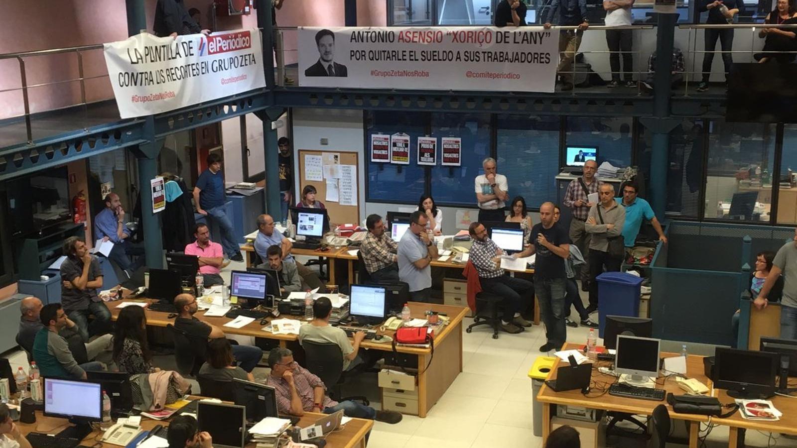 'El Periódico' prepara un ERO per reduir el 45% de la massa salarial