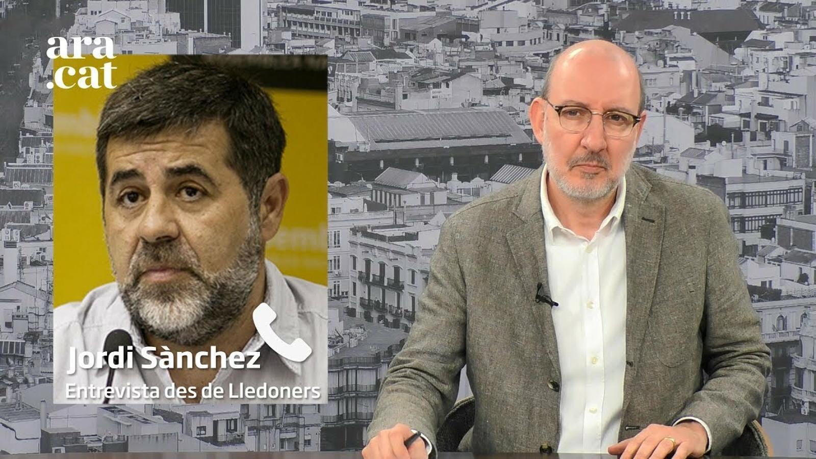 """Jordi Sànchez, sobre Pedro Sánchez: """"Li falta valentia i empatia"""""""