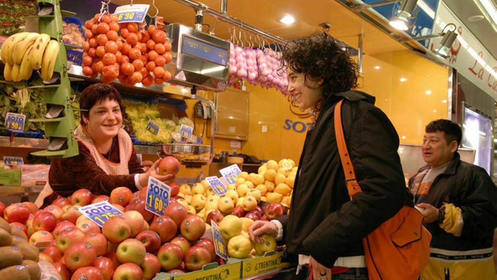 Les vendes d'alimentació han caigut un 5,6% a les Illes Balears.