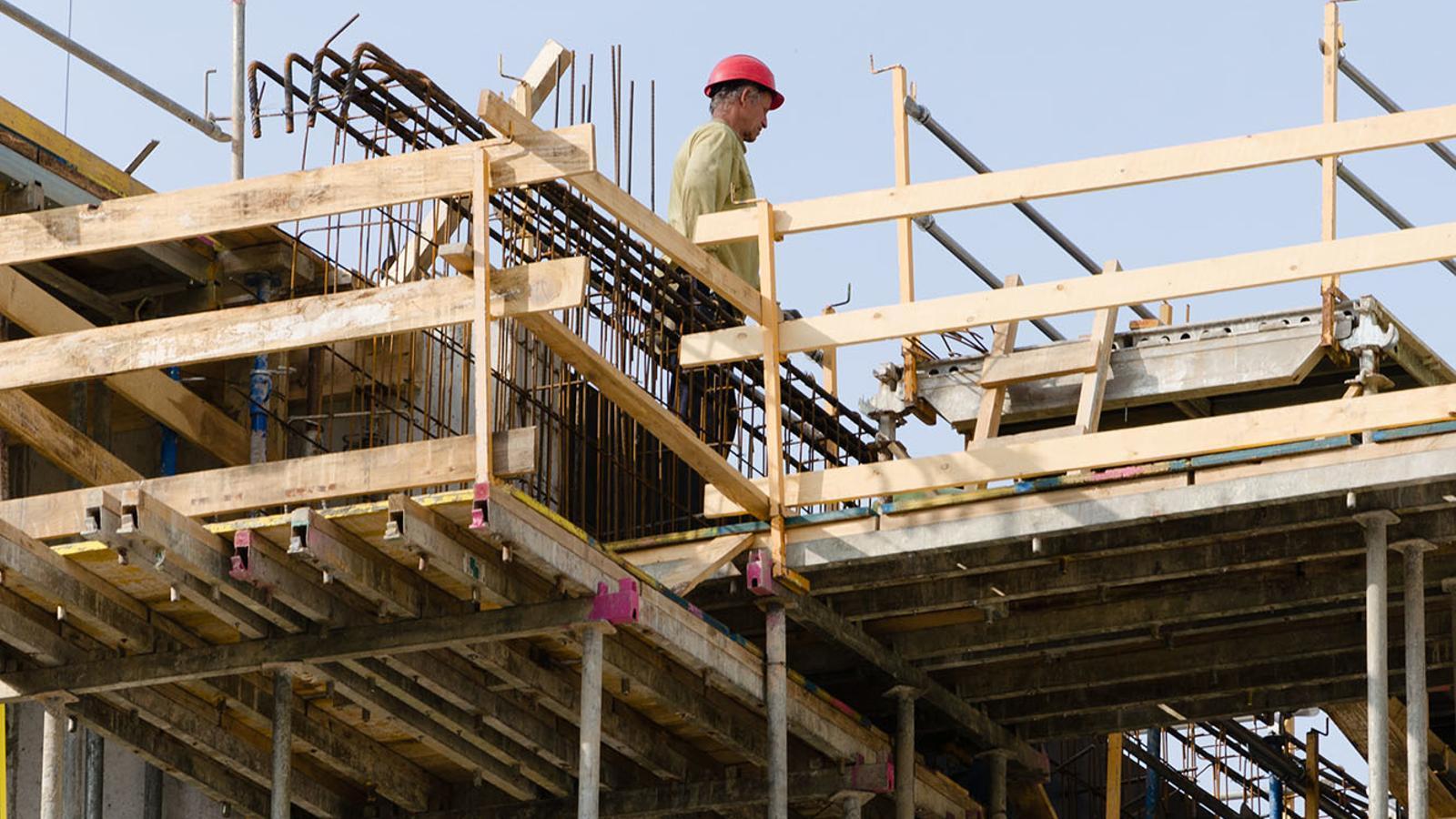 La construcció és un dels sectors que ha experimentat més creixement en el PIB. / ARXIU ANA
