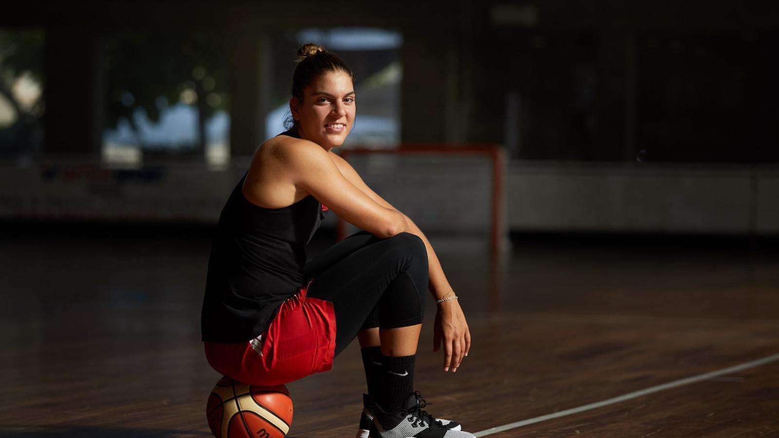 Marta Xargay, jugadora de l'Spar Girona