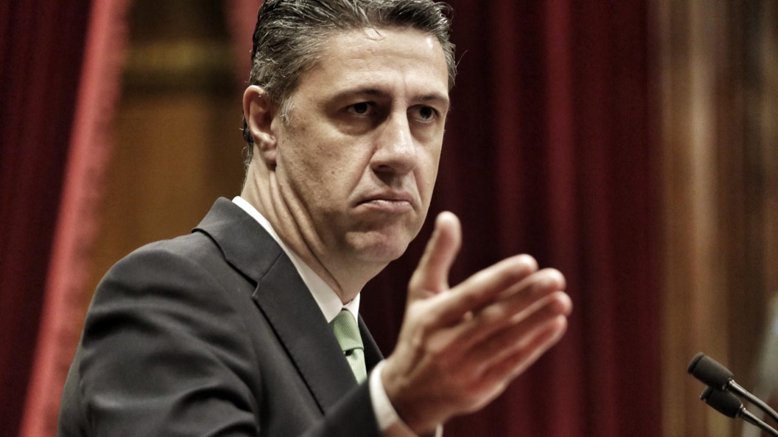 Xavier García Albiol, al Parlament. / PERE VIRGILI