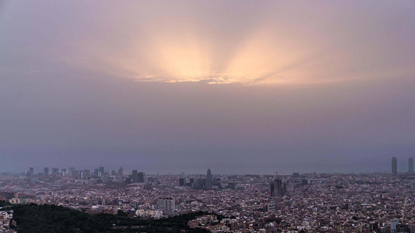 Episodi de contaminació per partícules en bona part de Catalunya