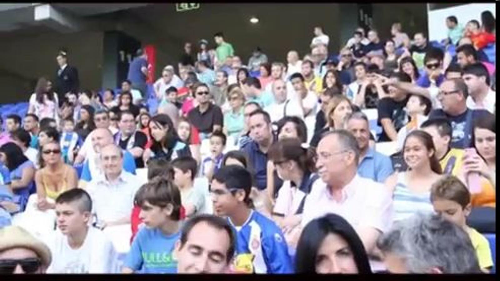 L'Espanyol presenta les equipacions de la temporada 2012/2012