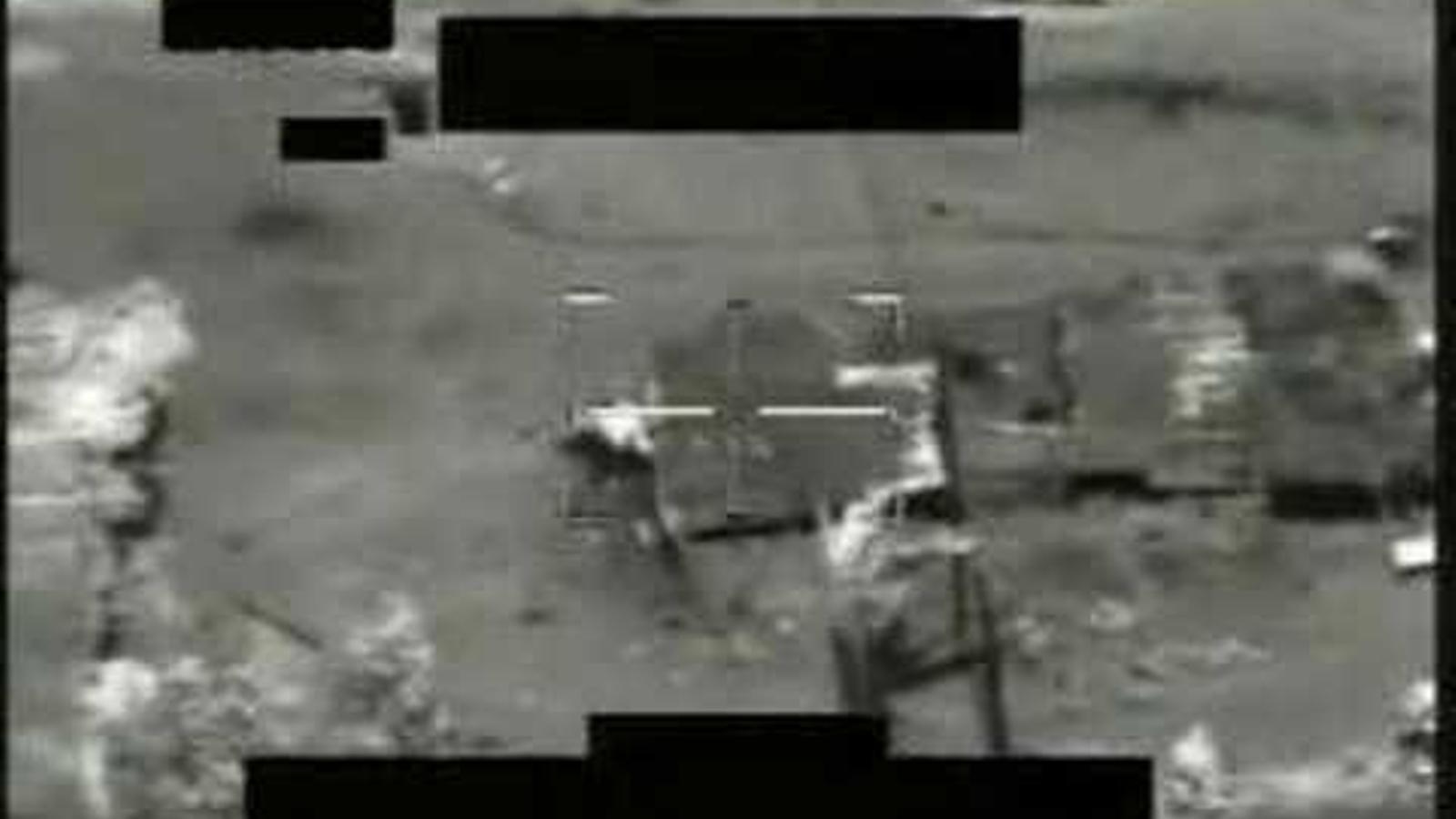 2007. Atac d'un helicòpter Apache