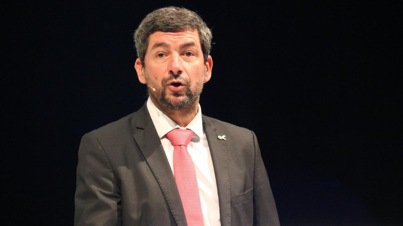El president de la Cambra barcelonina, Joan Canadell, en una imatge del setembre passat.