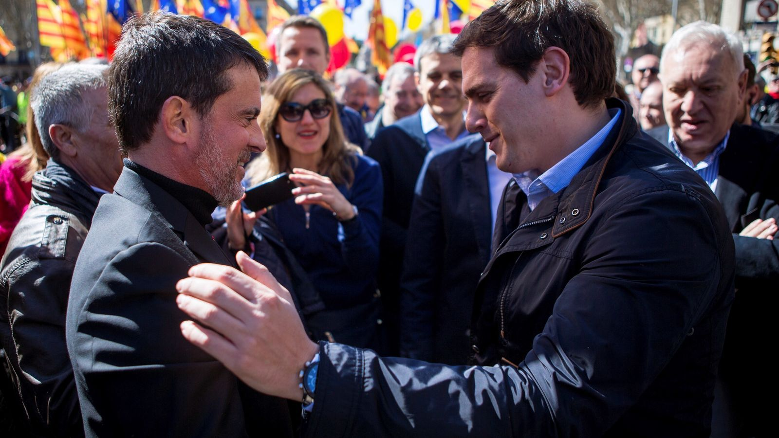 Manuel Valls i Albert Rivera