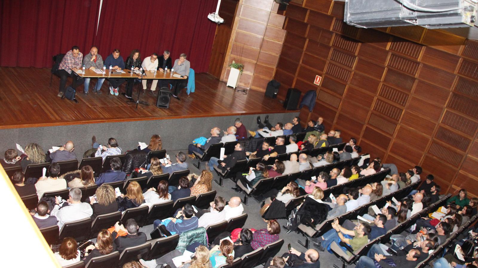 Celebració de l'assemblea del personal de la Funció Pública. / E. J. M. (ANA)