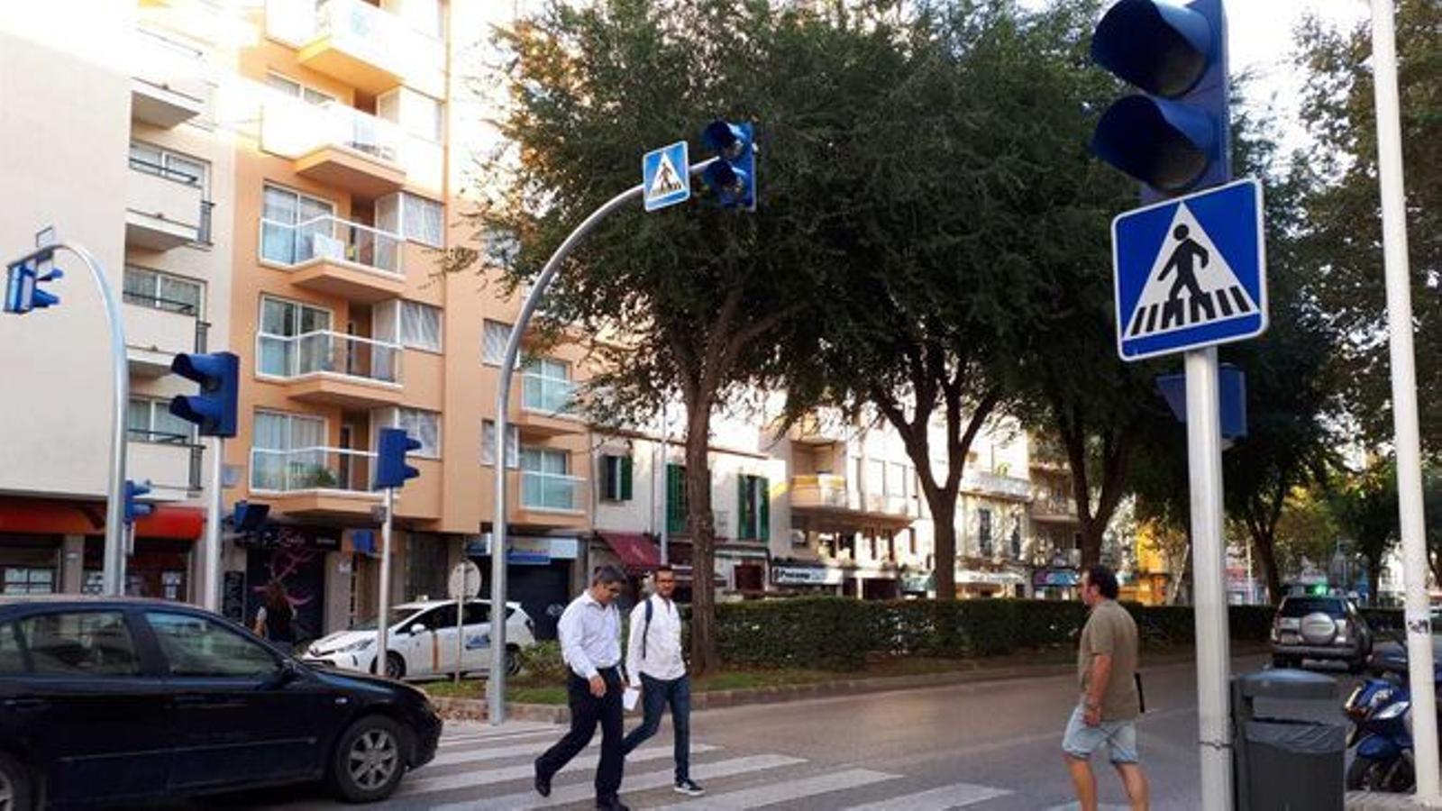 Ara aquesta reducció de velocitat s'aplica a un 20% dels carrers de Palma