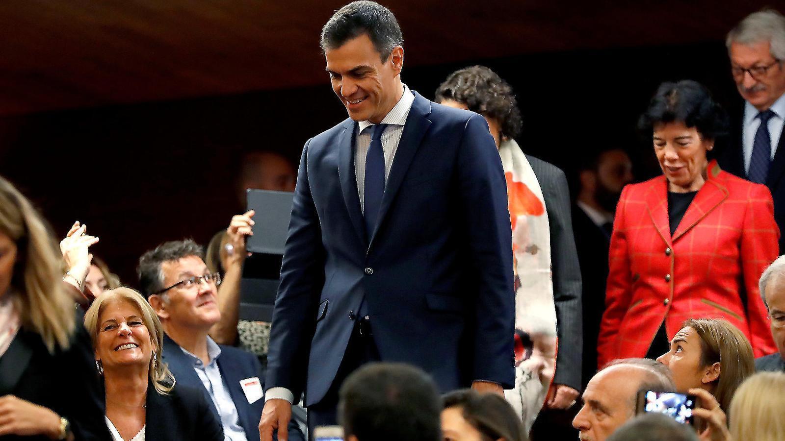 Sánchez apostarà  en solitari al Congrés  per un nou Estatut