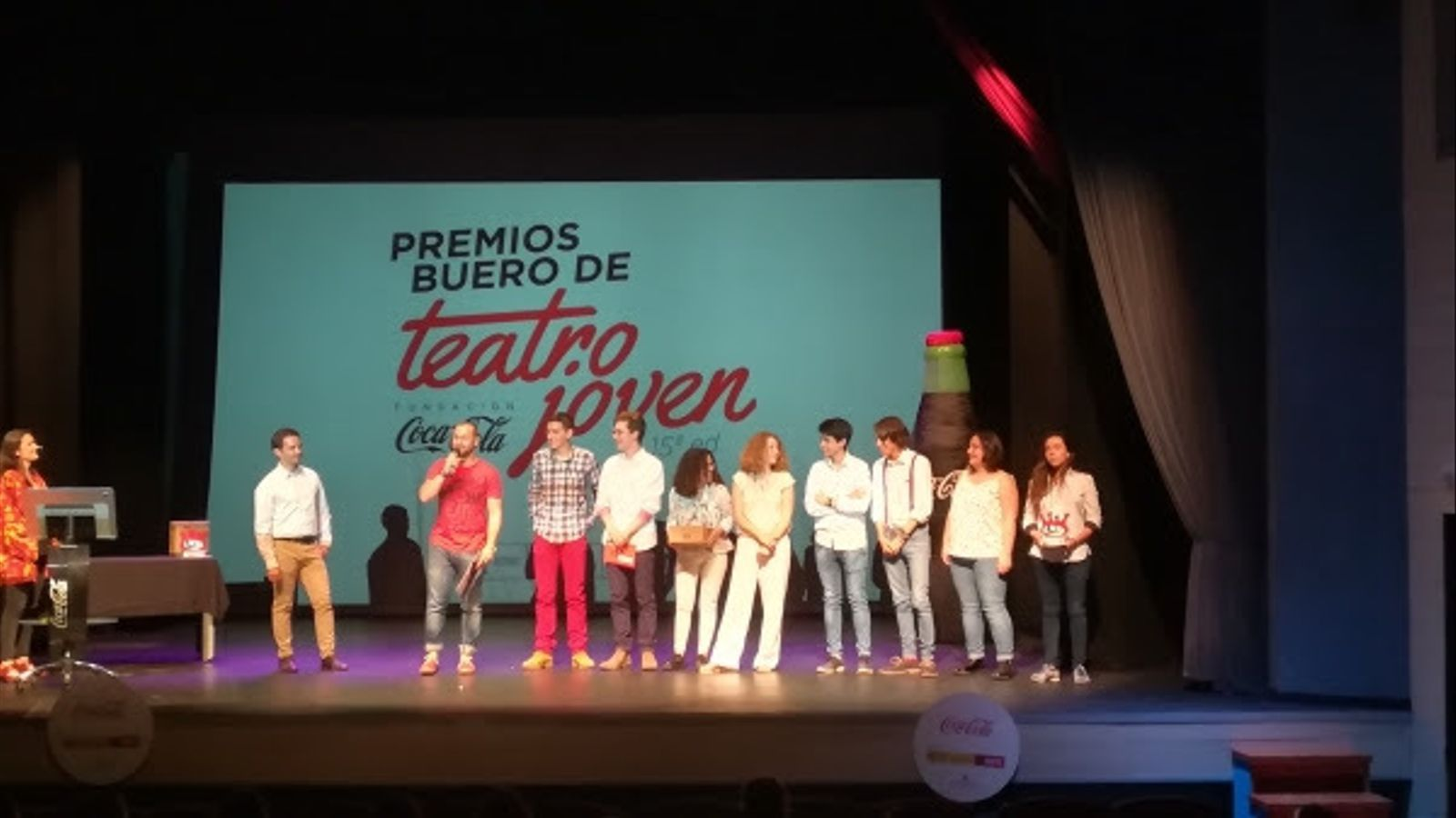 L'IES Mossèn Alcover es fa amb el Premi Buero de Teatre Jove