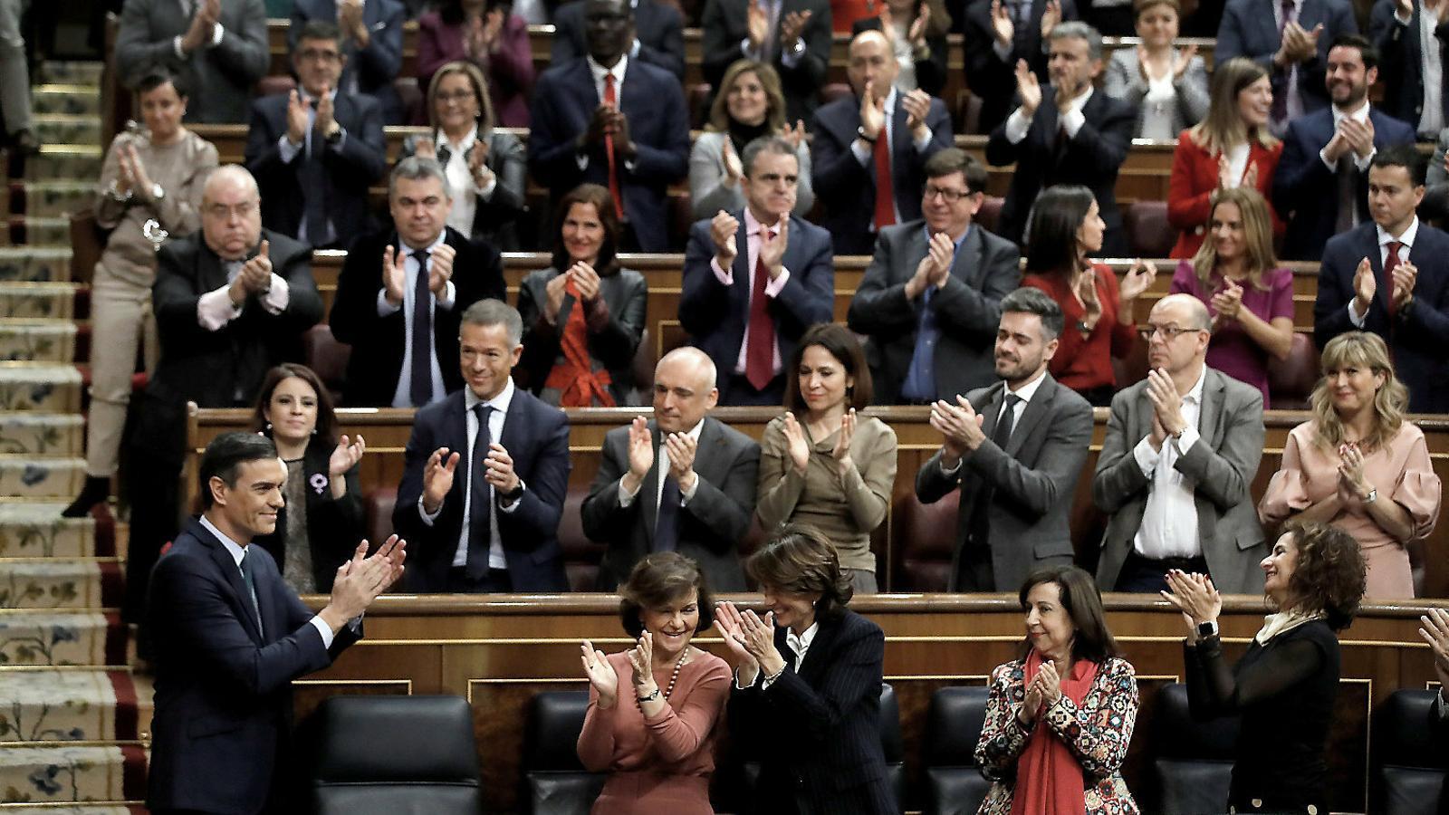 Sánchez busca l'aval del Congrés per deixar enrere la interinitat