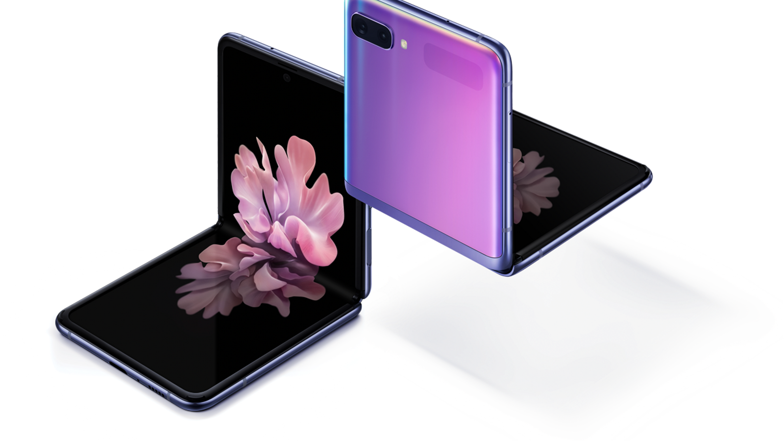 El Galaxy Z Flip es plega per la meitat com els telèfons de tapa de fa 15 anys