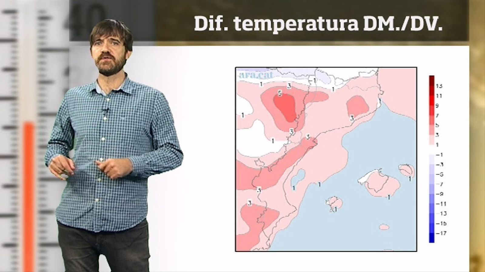 La méteo en 1 minut: pic de calor a finals d'octubre