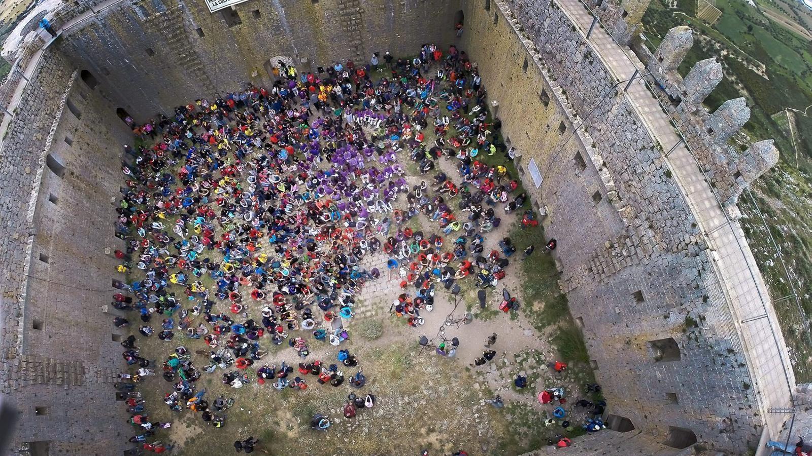 El castell del Montgrí és un punt simbòlic que serveix d'obertura al festival Ítaca.