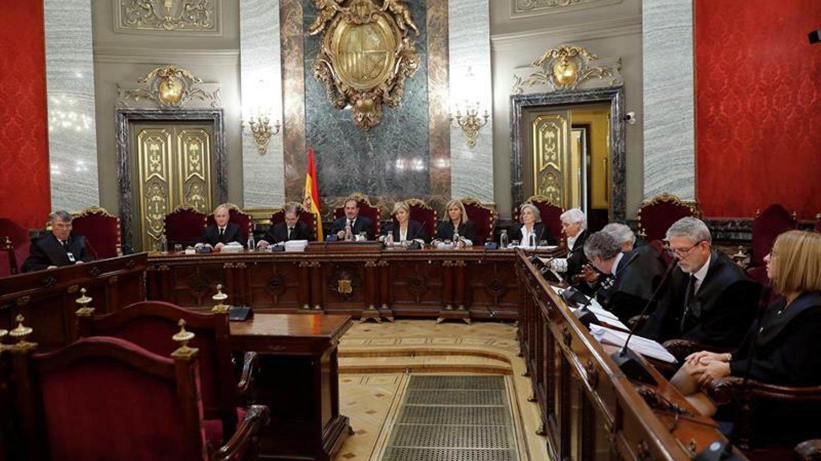 El Tribunal Suprem delibera els recursos dels membres de La Manada