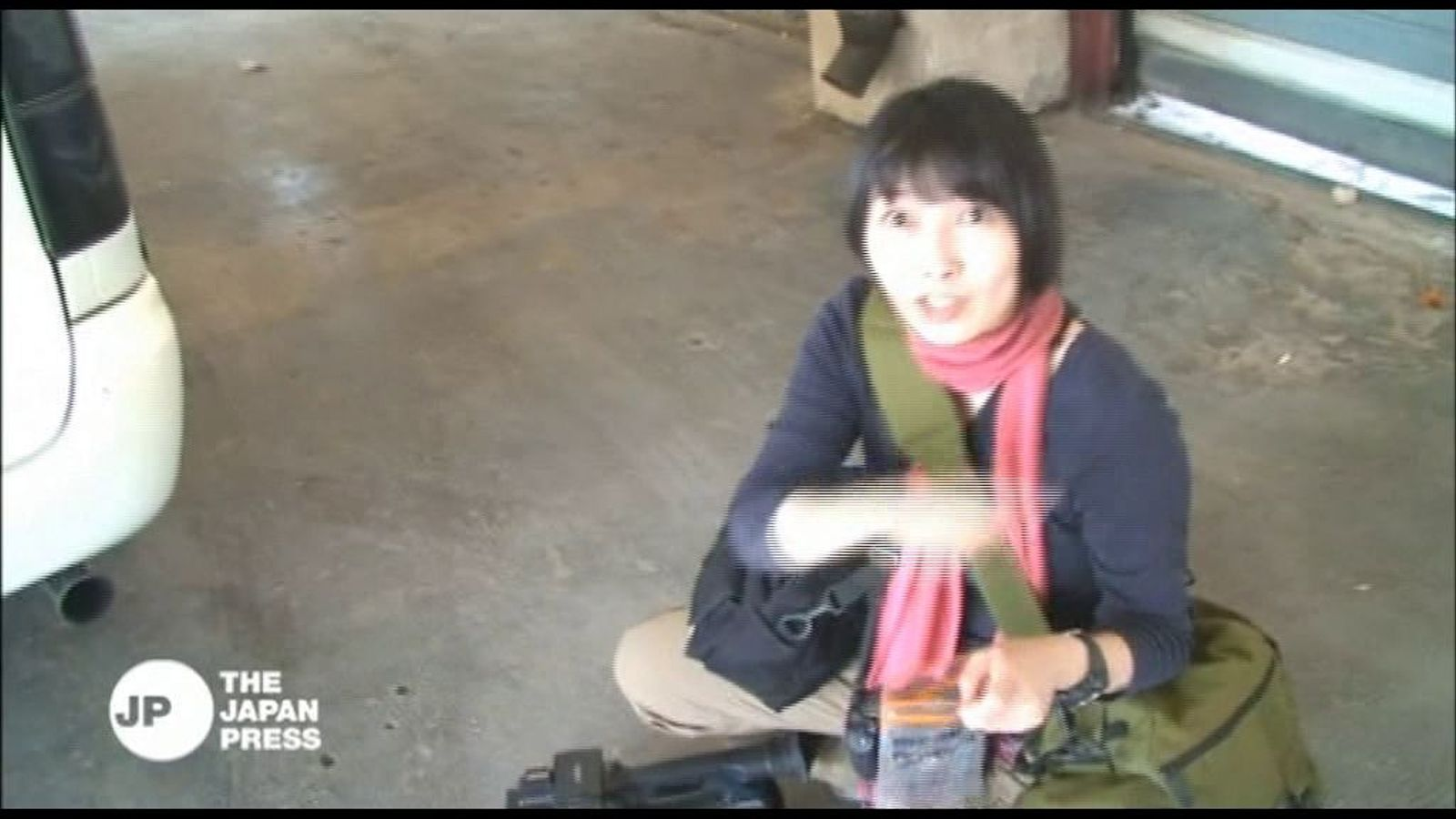 Mor una reportera japonesa a Síria