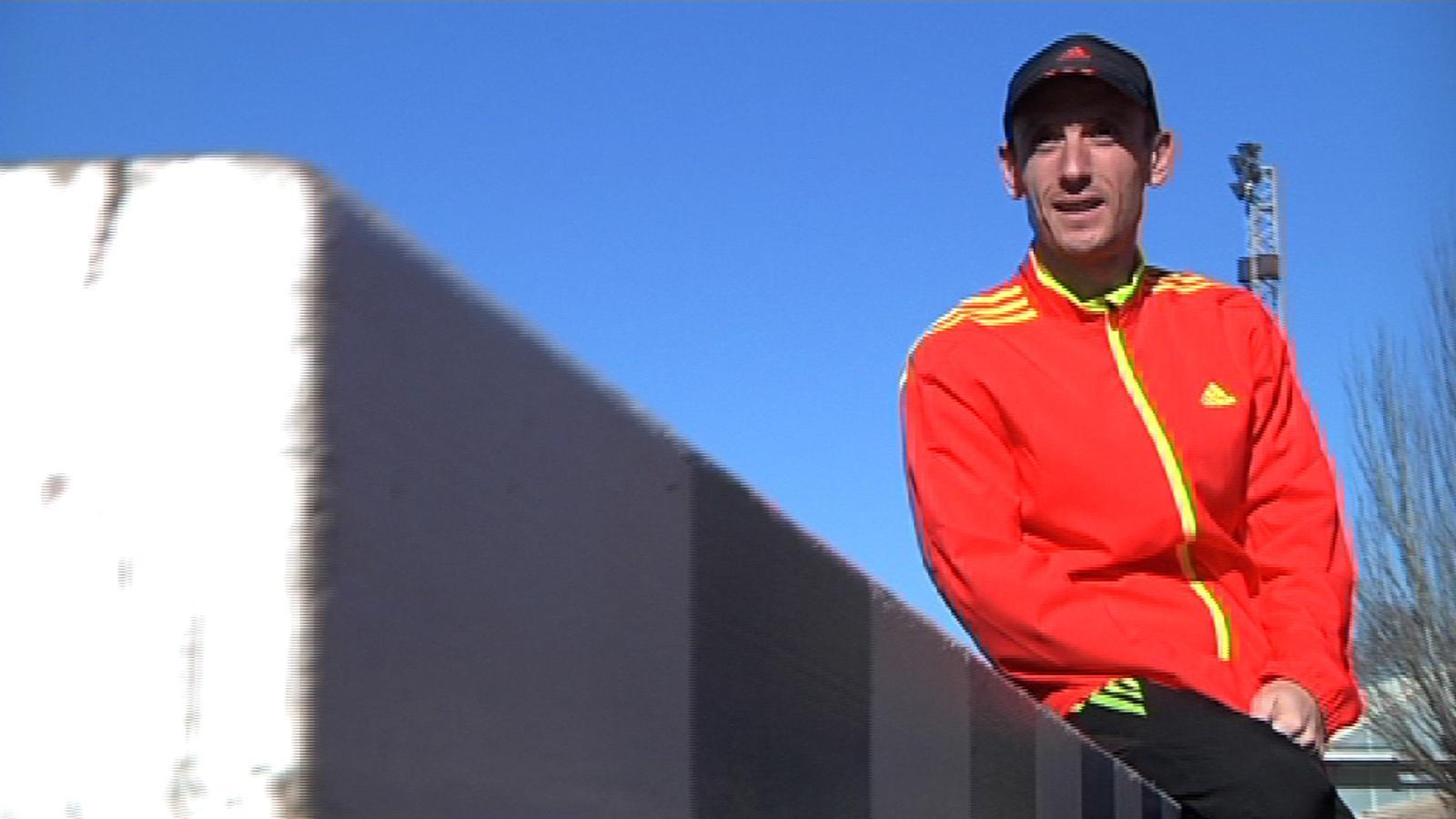 Carles Castillejo, campió de la Mitja de Granollers: Quan prepares una marató has de ser com una formiga i reservar energia