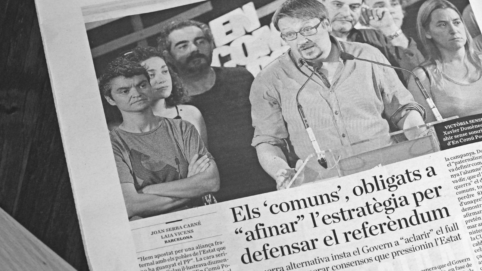 """L'anàlisi d'Antoni Bassas: """"Temps de refer consensos"""""""