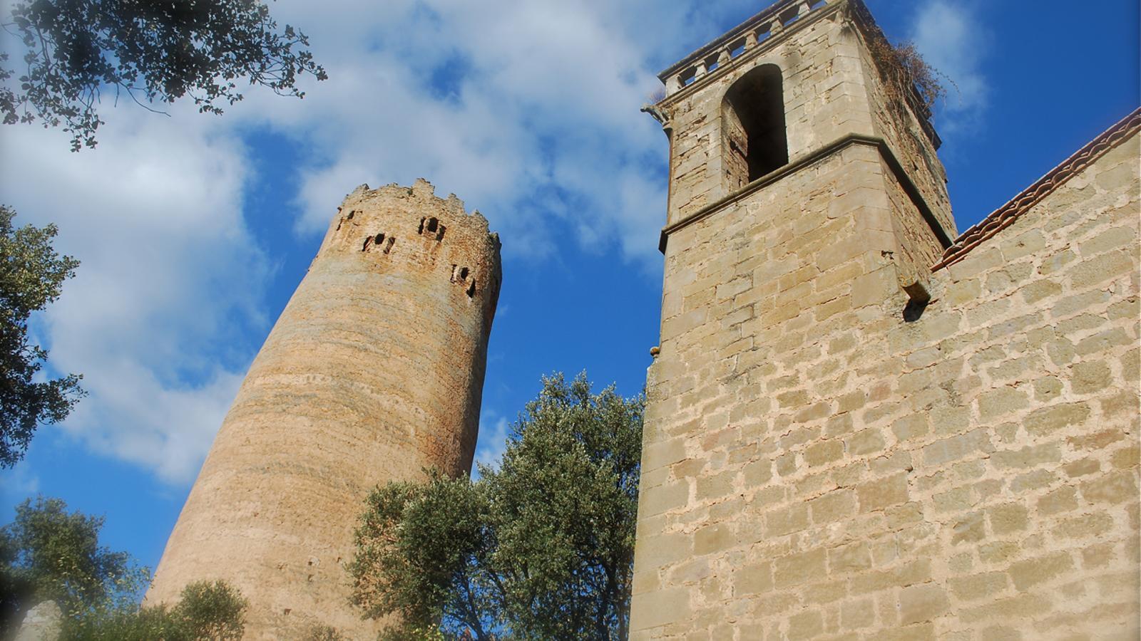 Imatge d'arxiu de la Torre de Vallferosa