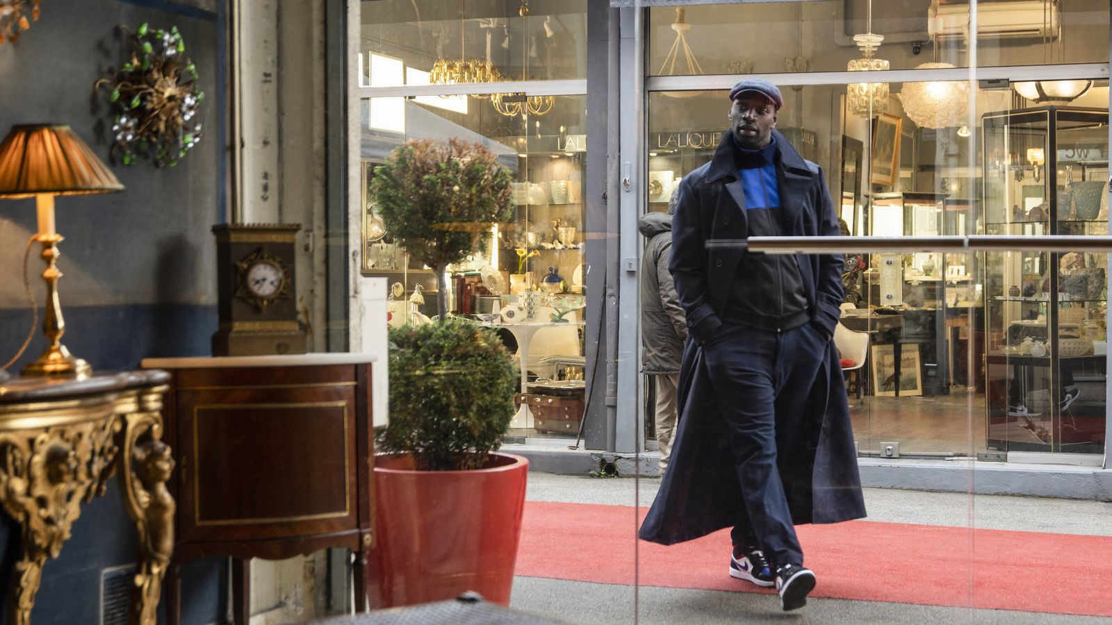 Omar Sy a 'Lupin'