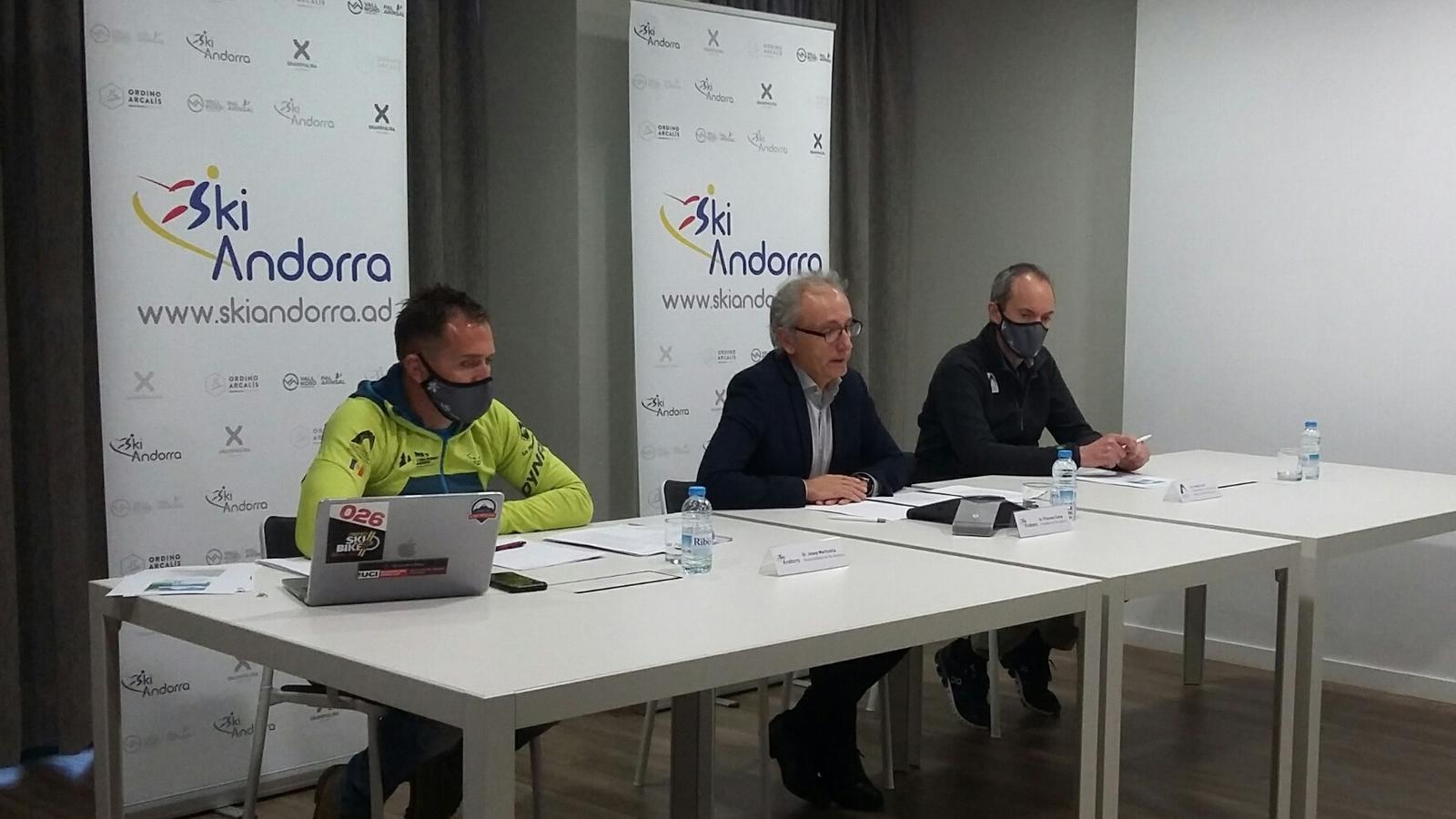 Roda de premsa de presentació del forfet Natura. / SKI ANDORRA