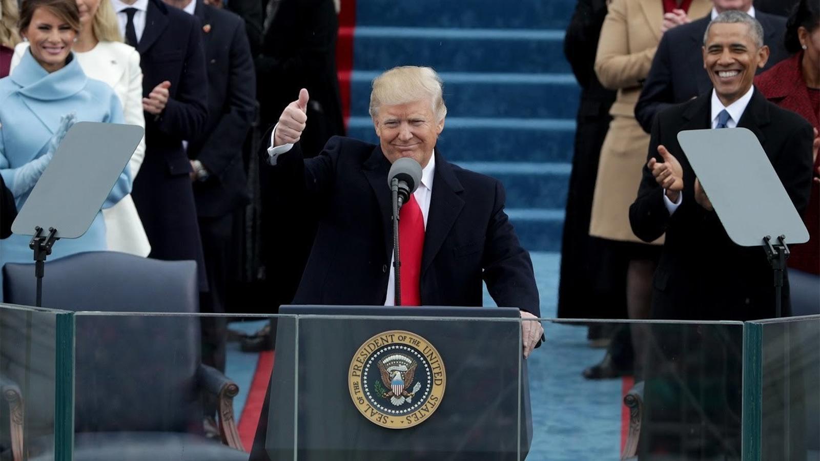 Discurs d'investidura de Donald Trump