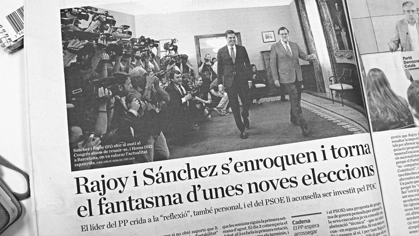 L'anàlisi d'Antoni Bassas: 'Investidura per anar enrere'