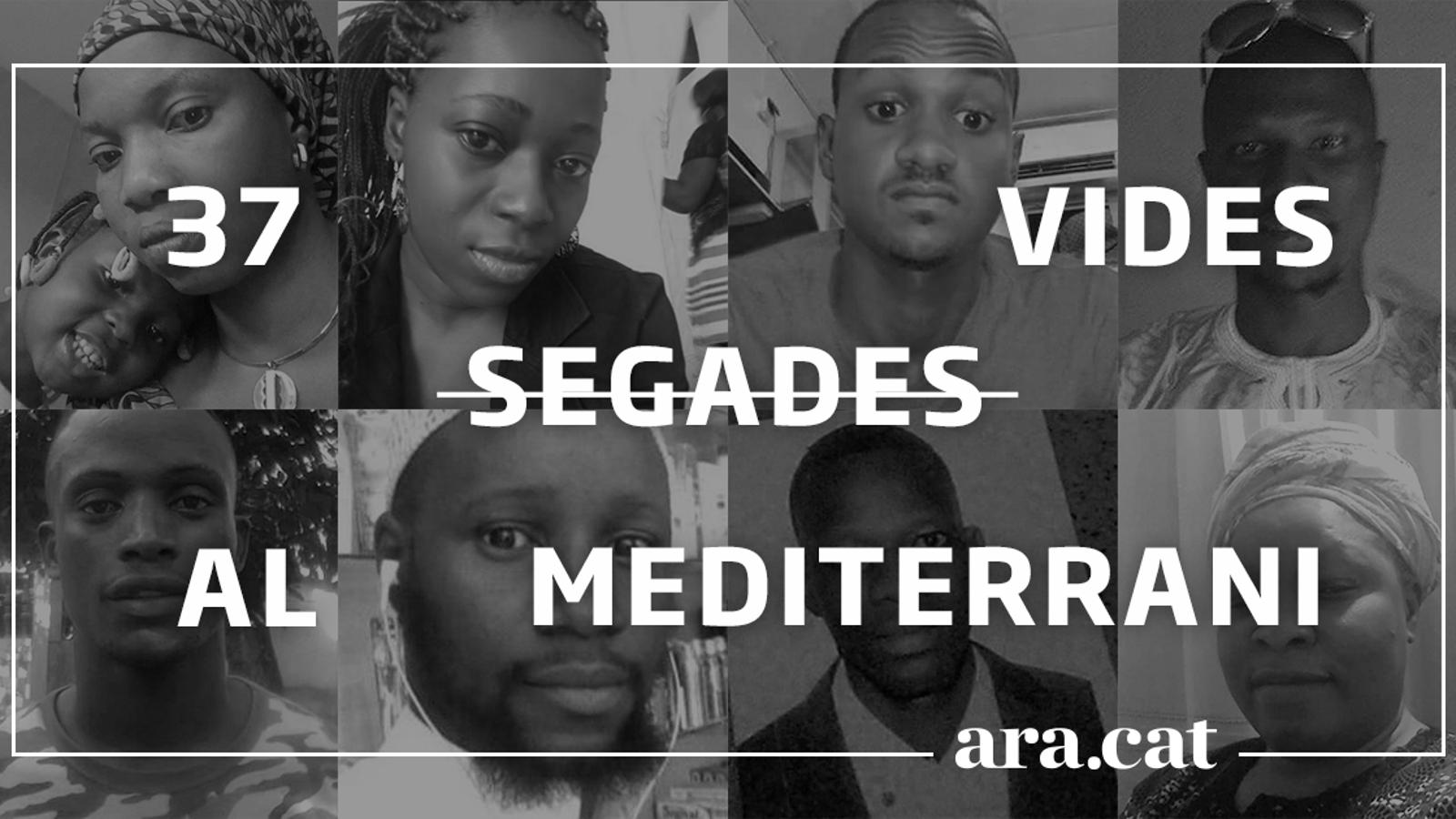 37 vides segades al Mediterrani