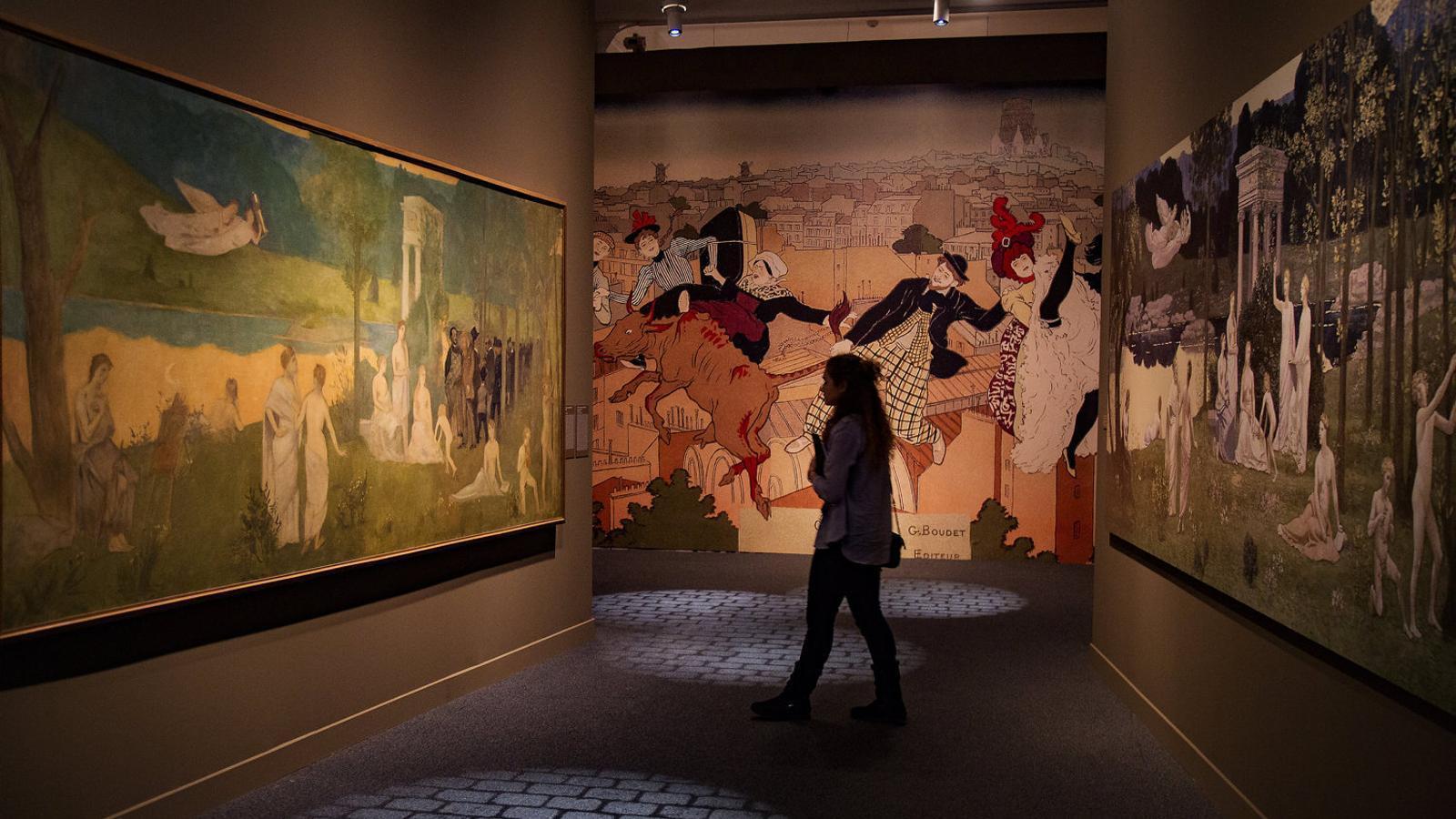 El CaixaForum viatja a l'origen  del mite de la París bohèmia