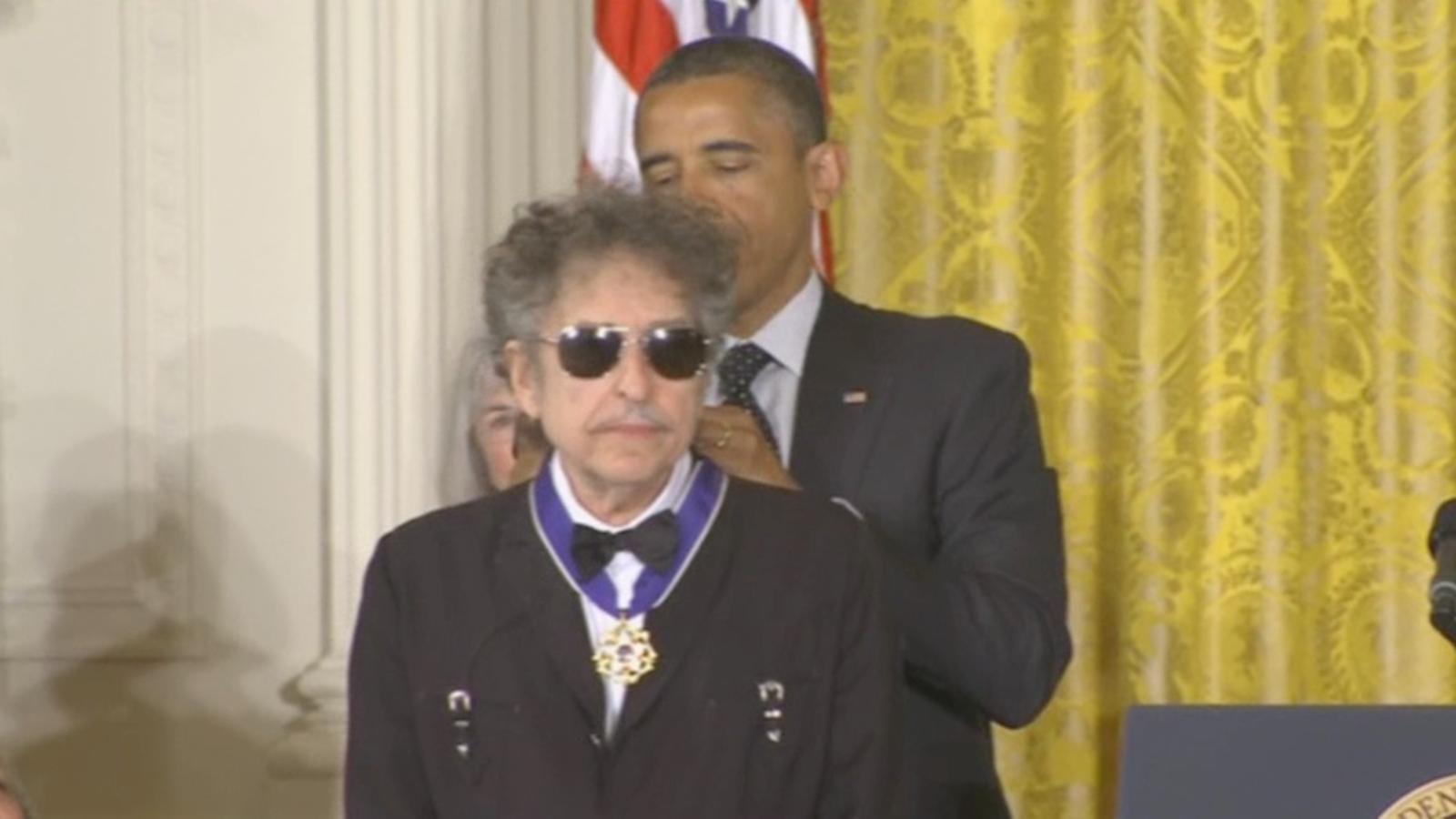 Bob Dylan, medalla a la Llibertat: El màxim honor civil als Estats Units