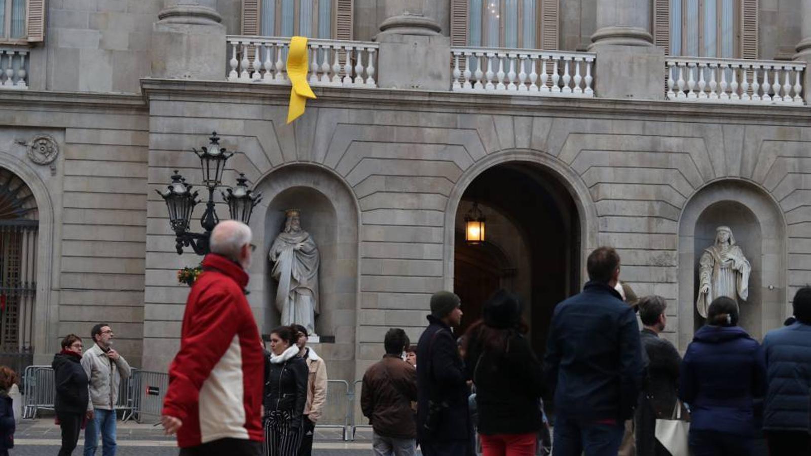L'Ajuntament de Barcelona en una imatge d'arxiu