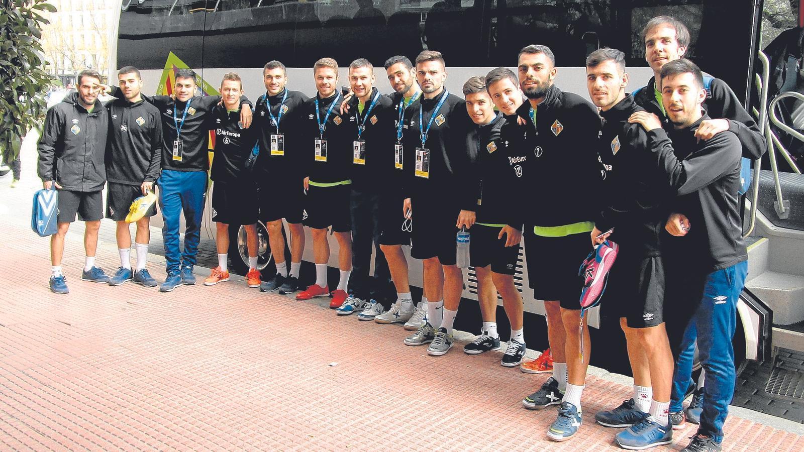 El Palma Futsal s'encomana a sant Nico