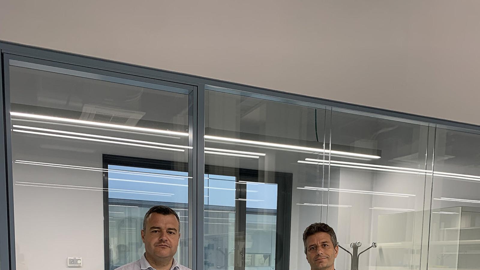 Jordi Carrera i Rafael Bru, fundadors de DeepUll.