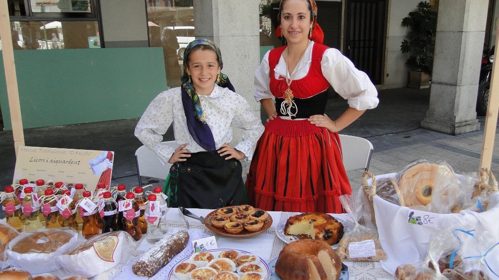 La plaça Guillemó acollirà el mercat a partir de les 18 hores / GF CASA PORTUGAL