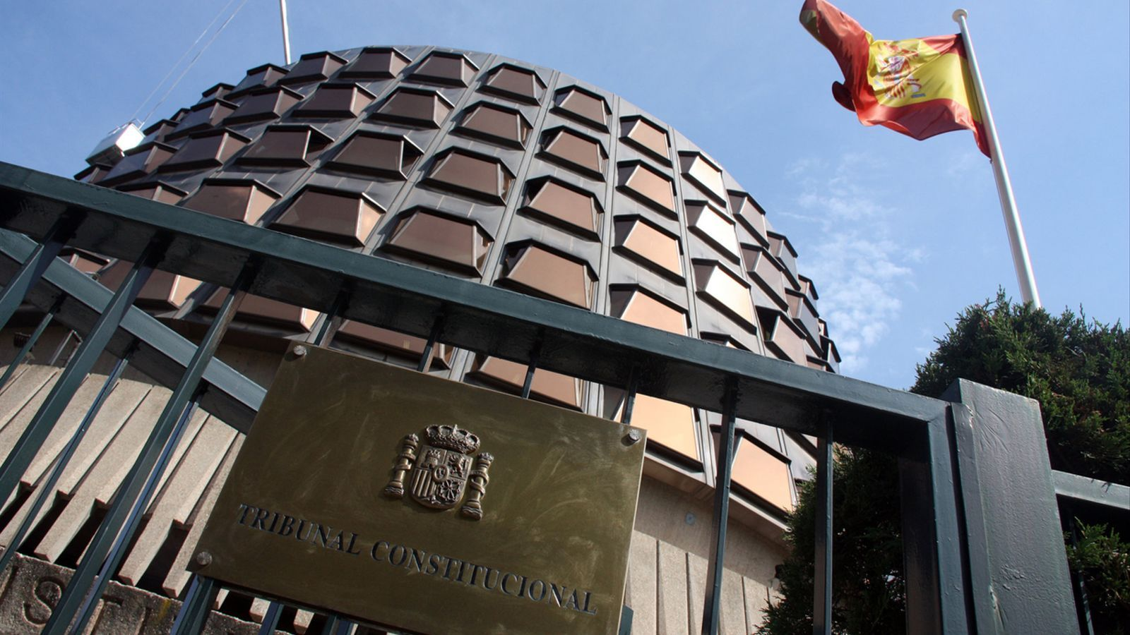 La seu del Tribunal Constitucional, a Madrid.