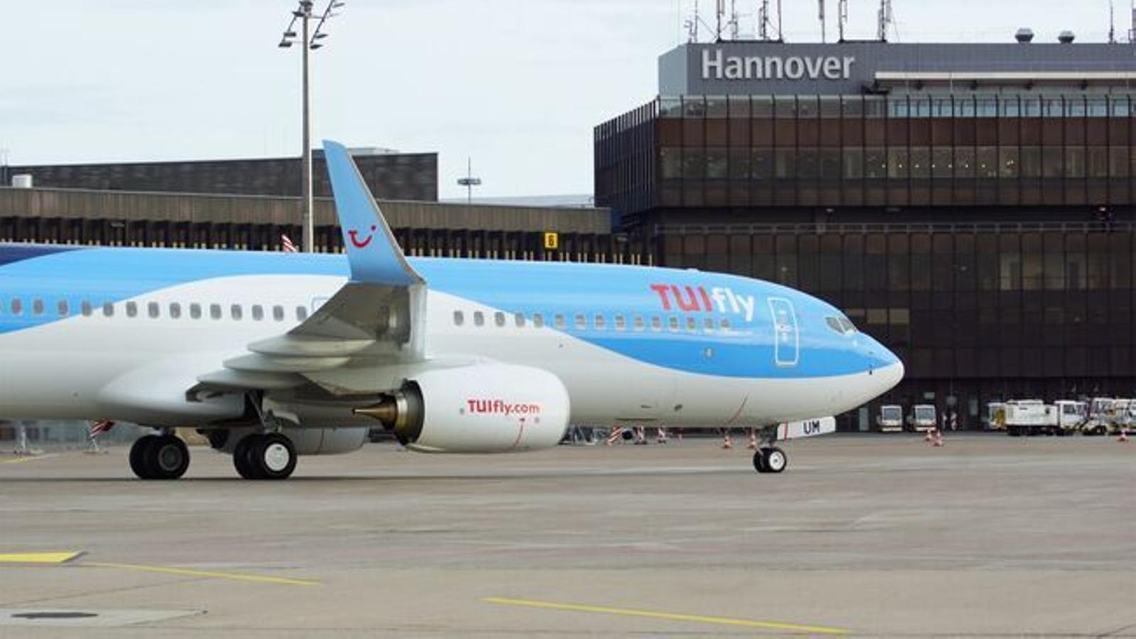 Un avió de TUI-Fly.