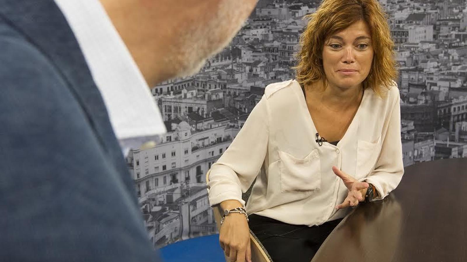Antoni Bassas entrevista a Elisenda Alamany