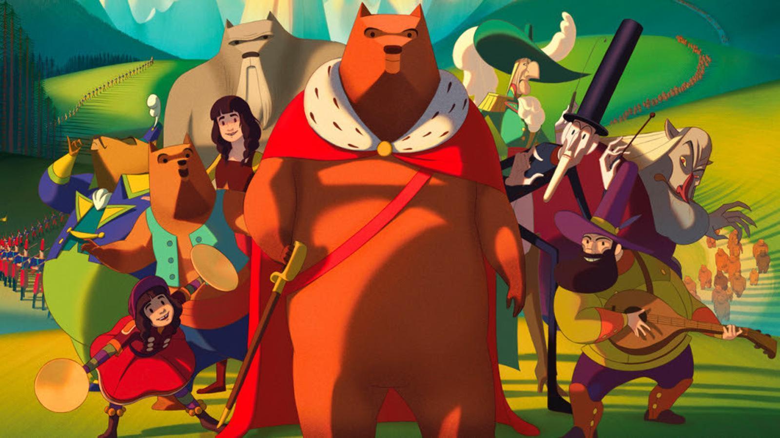 Fotograma de 'La famosa invasión de los osos en Sicilia'