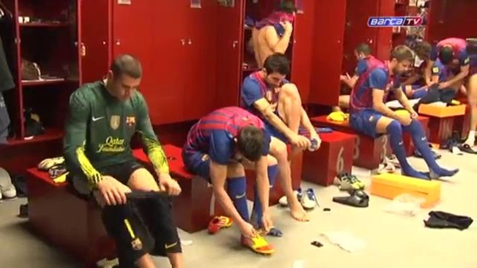 El Barça fa la fotografia oficial