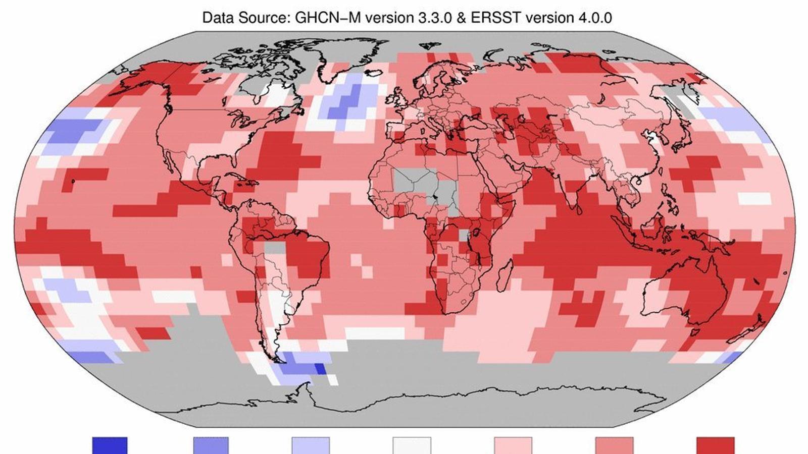 El mes de juny i el primer semestre del 2016, més càlids