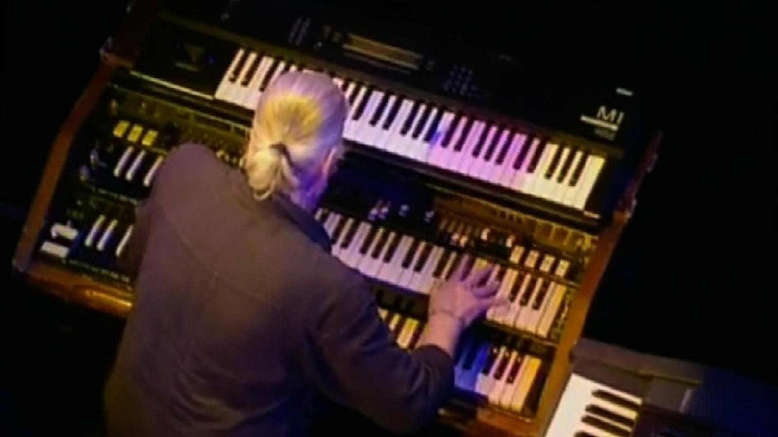 Solo de Jon Lord en una actuació de Deep Purple a Melbourne