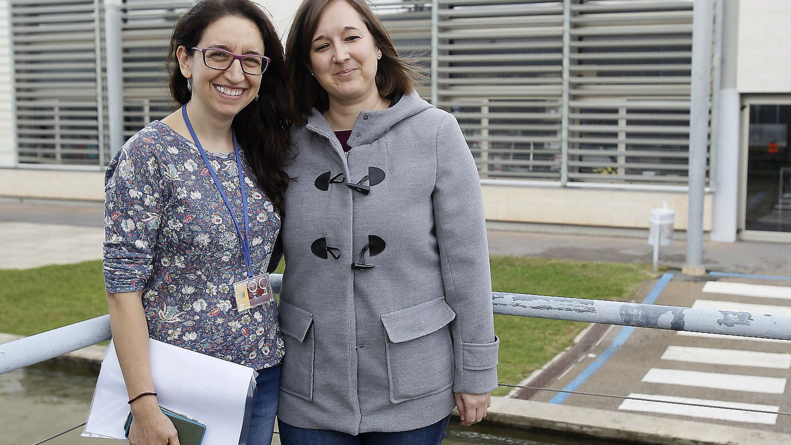Vicky Fullana i Núria Jiménez són dues de les treballadores socials d'Amadip Esment que s'encarreguen tant d'orientar les famílies com d'assessorar els discapacitats en l'àrea de drets.