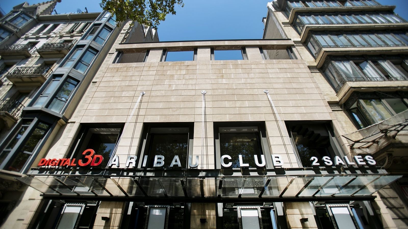 L'Aribau Club, un cinema menys