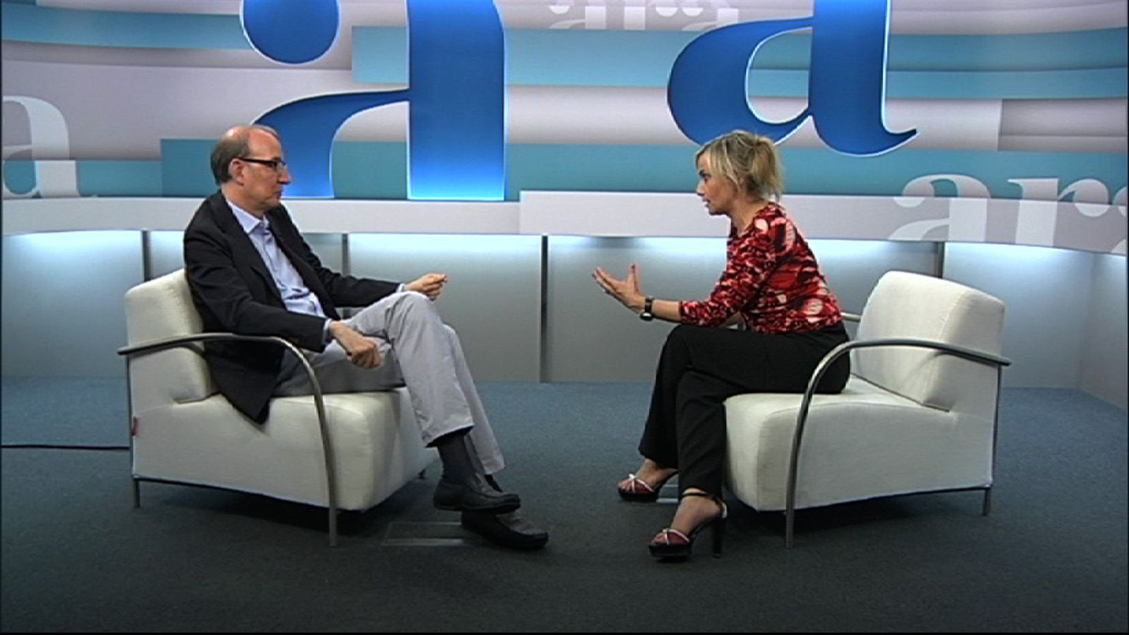 Entrevista de Mònica Terribas a Antoni Bassas