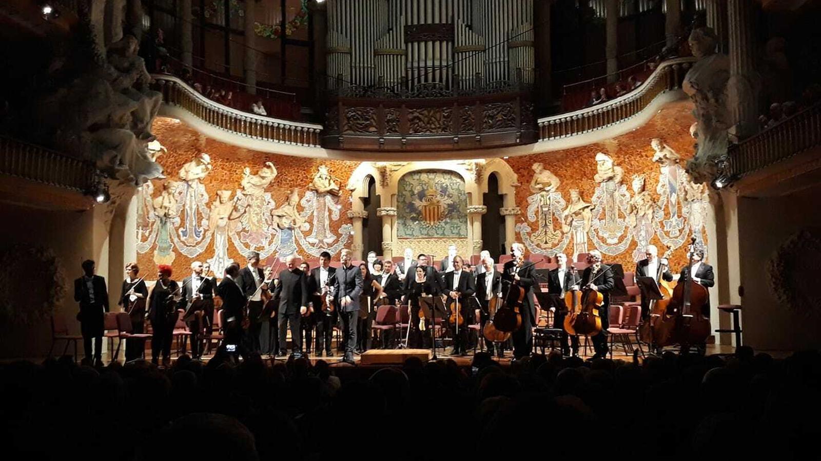 L'Orquestra de Cadaqués al Palau de la Música