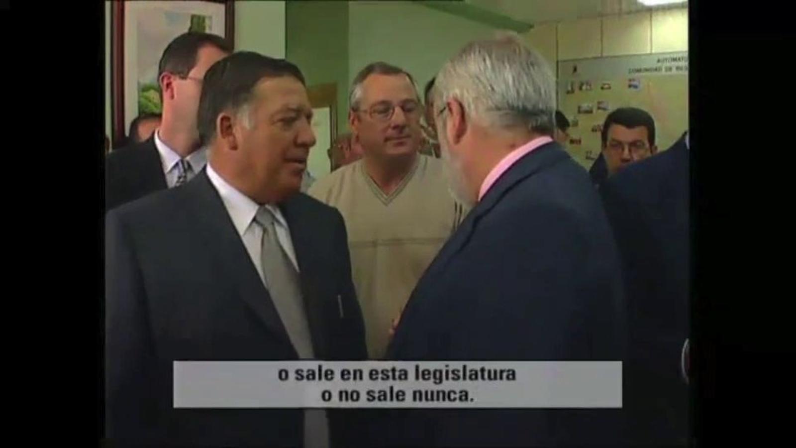 """Miguel Arias Cañete, l'any 2000: el Pla Hidrològic Nacional """"tirarà endavant per collons"""""""